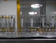 Tubes à prélèvements du rover Perseverance