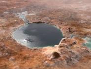 Le cratère Jezero, il y a des milliards d'années
