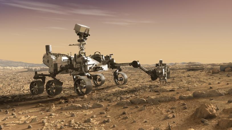 Mars 2020 et la collecte d'échantillons