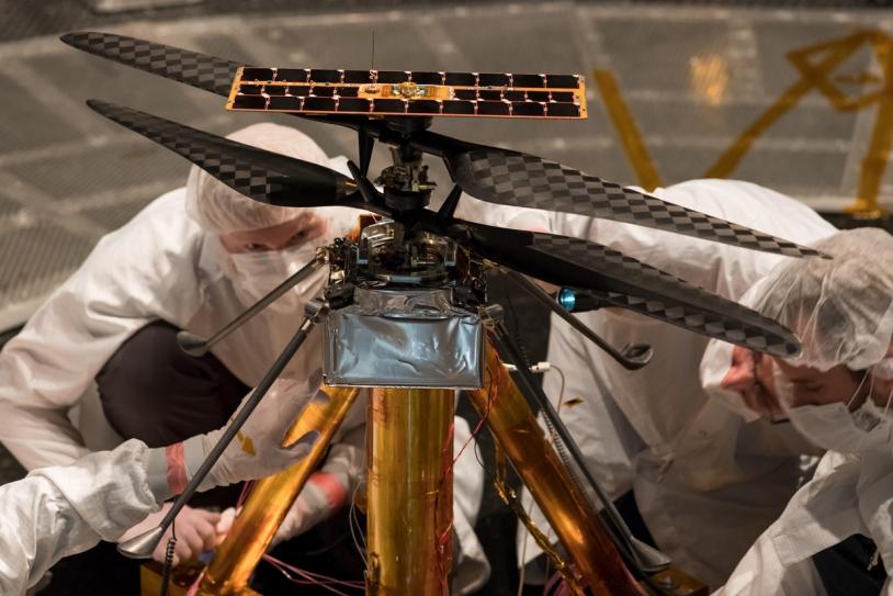 Drône martien