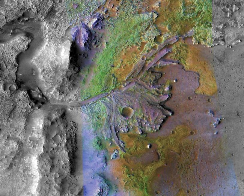 Cratère martien Jezero