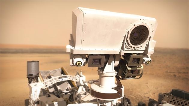 Rover Perseverance de la mission Mars 2020