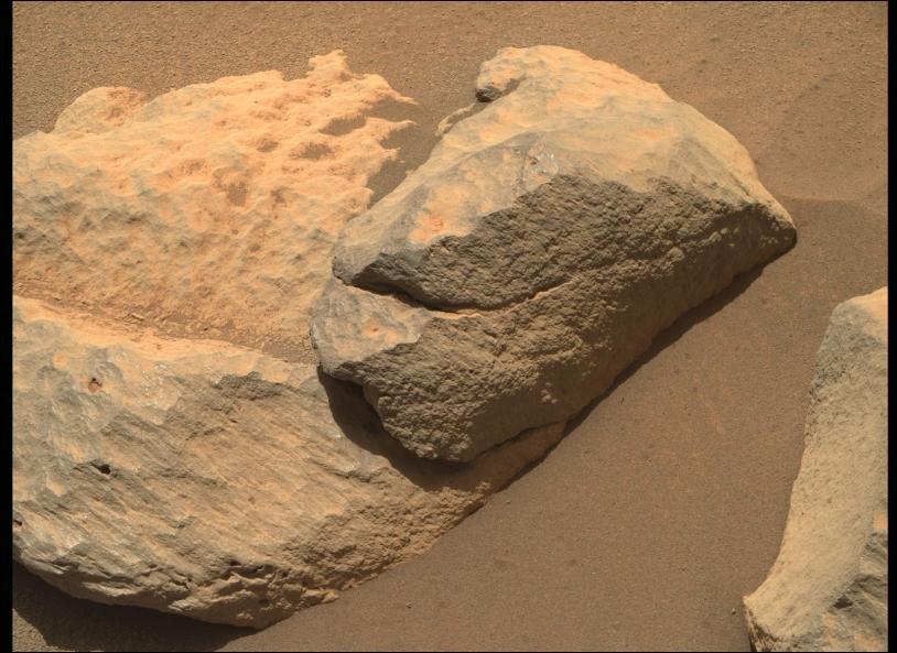 Persy Cible martienne située sur le point d'observation Van Zyl